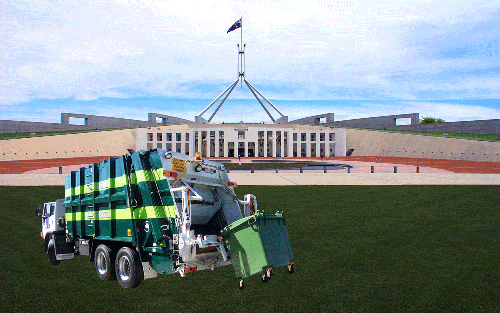 Time to Clean up Canberra